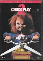 Child's Play 2 (DVD) New & Sealed! Chucky's Back!