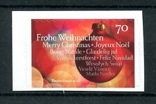 Allemagne 2016 neuf sans charnière noël frohe weihnachten baubles décorations 1v s/a timbres