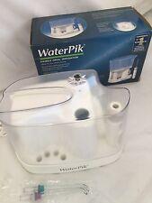 WaterPik WP-70W Family Oral Irrigator 2 Pulsating Jets tips Fight Gingivitis
