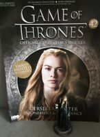 Game Of Thrones GOT Official Collectors Models #42 Cersei Lannister Figurine NEW