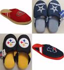 New NFL Slippers Mens Unisex S-M-L-XL MSRP $25 Perfect for Holiday Gift
