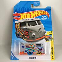 Hot Wheels Kool Kombi Hw Art Cars 50th Anniversary VW Volkswagen Bus 2018