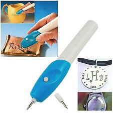 Electric Joyas Reloj Grabado Grabador Pen tallar  herramienta Copa De Metal