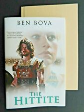 BEN BOVA true 1st edition THE HITTITE  hardcover with jacket 2010