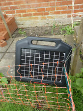 More details for solar powered electric fence, 50m long, no more cats or rabbits!