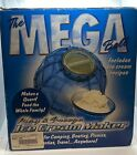 The Mega Ball Play and Freeze Ice Cream Maker Campers Dream Quart Green NEW