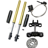 45/48mm USD Front Fork Triple Tree clamp Brake 125cc 140cc 150cc Pit Dirt Bike