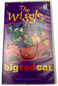 The Wiggles Big Red Car ABC VHS Video Cassette Tape PAL G 1995