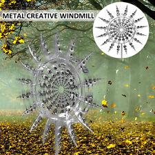 Einzigartige und Magische Metall Garten Windmühlen Spinner Windfänger Dekor DE