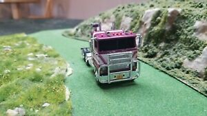"Custom 1:64 Waterslide DECALS Love Machine Mack Cabover  ""Convoy"""