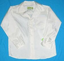 Boys yellow white SPEC OCC l/s shirt sz 8 NEW bnwt
