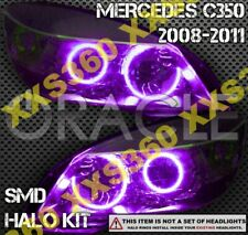 ORACLE Headlight HALO KIT RINGS for Mercedes Benz C-Class W204 08-11 PURPLE LED