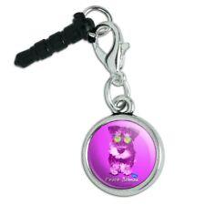 Peace Schnau Schnauzer Puppy Dog Retro Mobile Phone Headphone Jack Charm