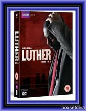 LUTHER- COMPLETE BBC SERIES 1 & 2 -  *BRAND NEW DVD BOXSET*