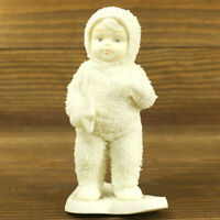 Department 56 Snowbabies Winter Silhouette White Porcelain Snowshoe Delivery