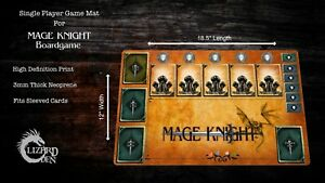 Mage Knight Custom Made Game Mat