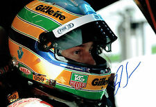 Bruno SENNA SIGNED 12x8 Portrait Photo AFTAL COA Autograph
