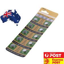 10 x LR41 (192/AG3/392) Battery 1.5V Alkaline Button Cell Batteries Sydney Stock
