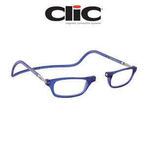 Computer Reading Glasses Clic Classic Blue Hoya Lens 100% Authentic Clic Product