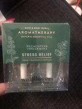 Stress Relief Aromatherapy Wallflower Eucalyptus Spearmint Bath & Body Works