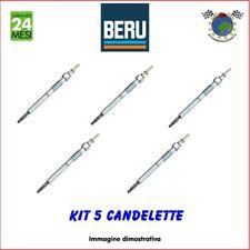 Kit 5 candelette Beru LAND ROVER DISCOVERY II DEFENDER