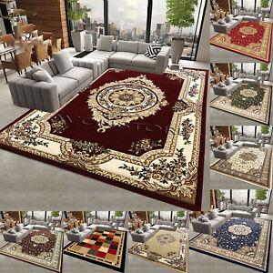 Modern Non Slip Traditional Rug Bedroom Living Room Hallway Runner Floor Carpets