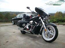 Tsukayu Small 6X9 Fairing For Honda Shadow VT1300 CT Interstate(Black)