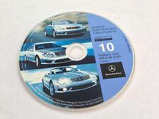 2002 2003 2004 MERCEDES BENZ G500 SL600 SL500 SL55 NAVIGATION CD 10 CANADA