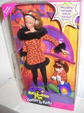 #6376 NRFB Mattel Target Stores Halloween Fun Barbie & Kelly Giftset