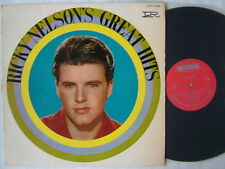 RICKY NELSON GREAT HITS / RICK JAPAN 60'S ISSUE JET-7096