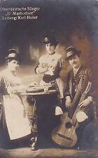 """AK Obersteirische Sänger """"D´Murbodner"""" Karl Hofer gel. ca.   1915 Austriaca"""