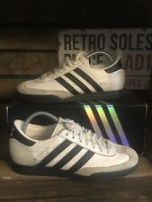 Adidas Originals Beckenbauer AR Trainers UK Size 7 White Black Leather 663536
