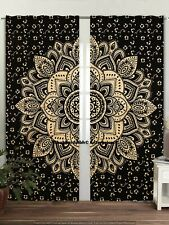 Mandala Throw Window Hangings Indian Drapery Large Curtains Psychedelic Decor