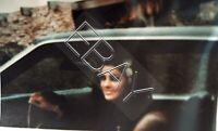 ELVIS PRESLEY EXTREMELY RARE PRISCILLA DRIVING ORIGINAL PHOTO OLD KODAK