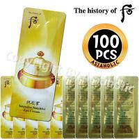 The history of Whoo Qi & Jin Eye Cream 1ml x 100pcs (100ml) Sample Newist Ver