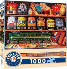MasterPieces Lionel Trains Collection Edition - 1000 Pieace Jigsaw Puzzle