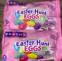 Brach's ~ Marshmallow Easter Hunt Eggs 2-Bags 7 oz. ~ Expires 07/2021