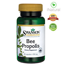 SWANSON BEE PROPOLIS 550mg Healthy Immune System Hay Fever Relief - 60 Capsules