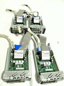 X4 INTEL FRONT PANEL BOARD ASSEMBLY E30020-302 CABLES CONTROL 6017B0055002