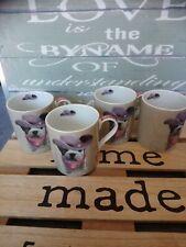 Lot de 4 adorables tasses teo jasmin 7 cm