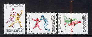 Russia-Urss/Russia-Urss 1992 MNH SC.6084/6086 Olympic Games Barcellona
