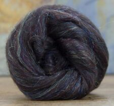 4 Ounces Merino Wool/Nylon Combed Top/Roving - MochaSparkle ** FREE SHIPPING **
