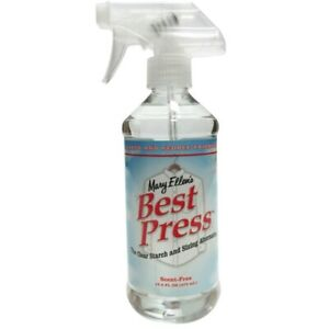 Mary Ellen's Best Press Starch Spray - Scent Free 499ml Spray Bottle