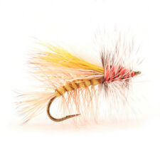 (2) Crystal Stimulator Yellow #16 Trout Dry Fly by Umpqua NEW FREE SHIPPING