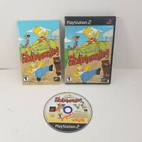 Sony Playstation 2 PS2 The Simpsons Skateboarding (CIB) Complete Tested