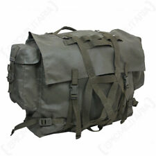 Original Swiss Army Mountain Rucksack - Bag Military Surplus Vintage Olive Green