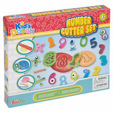 23pc Kids Play Dough Shaping Sets Number Cutter Carving Tools Children Xmas Set