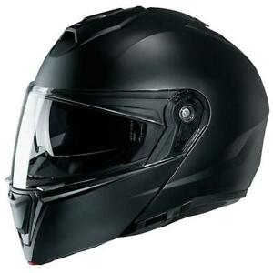 NEW HJC i-90 Motorcycle Helmet - Semi-Flat Black from Moto Heaven