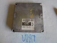01 02 TOYOTA CAMRY SOLORA 4CYL COMPUTER BRAIN ENGINE CONTROL ECU ECM MODULE U187