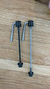 Used Tune AC 140 QR titanium lightweight skewers (100/130mm - black) - 48g